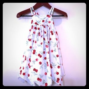 Tommy Bahama Girls Cherry Print Sundress